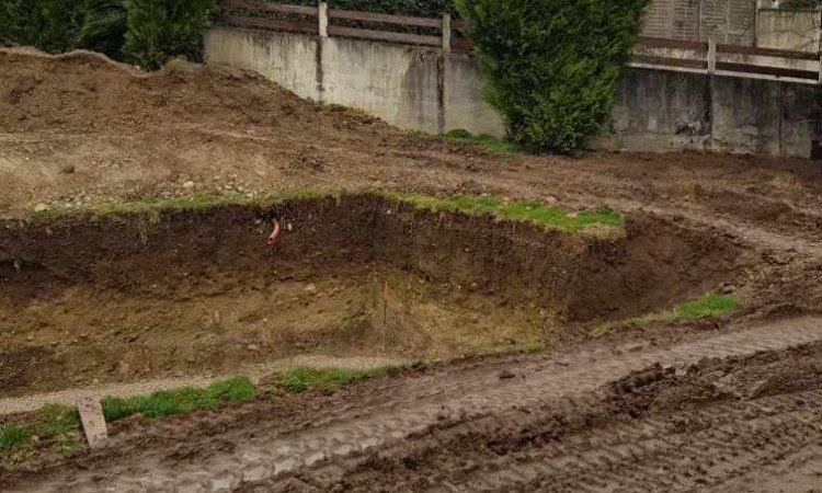 Préparation du terrassement